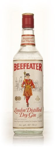 Beefeater London Dry Gin - 1970s