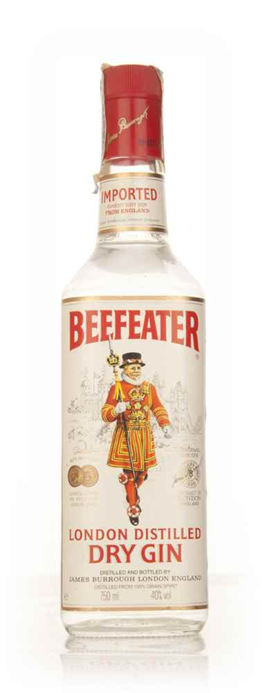 Beefeater London Dry Gin 75cl - 1980s
