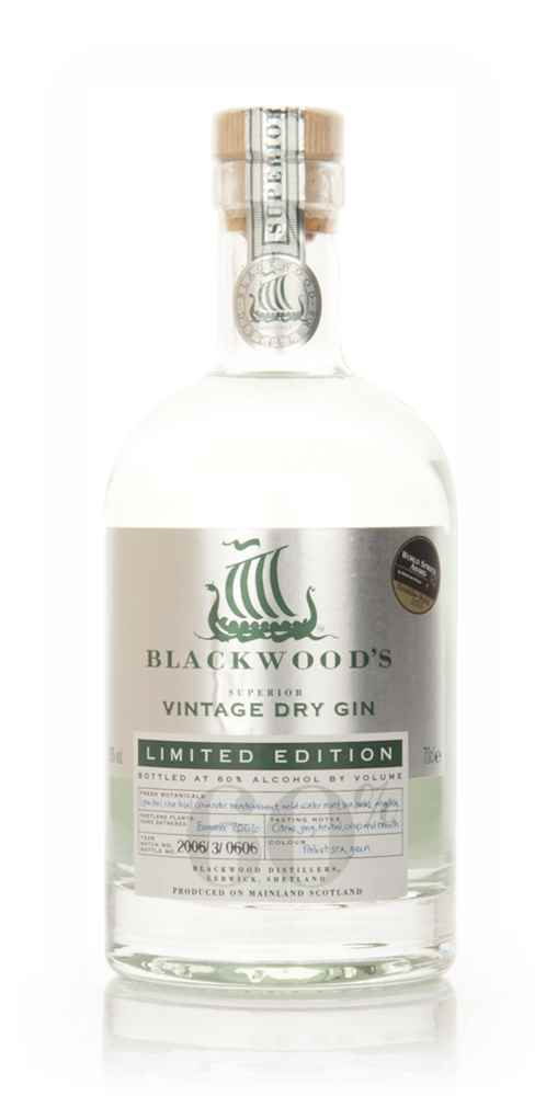 Blackwoods Vintage Dry Gin 2006 - Limited Edition