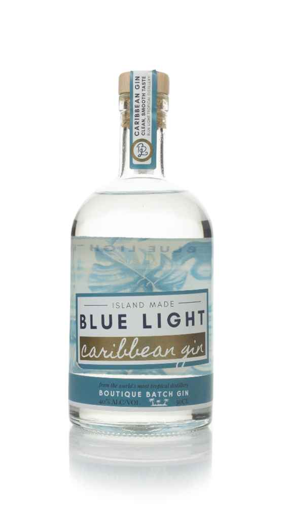 Blue Light Caribbean Gin