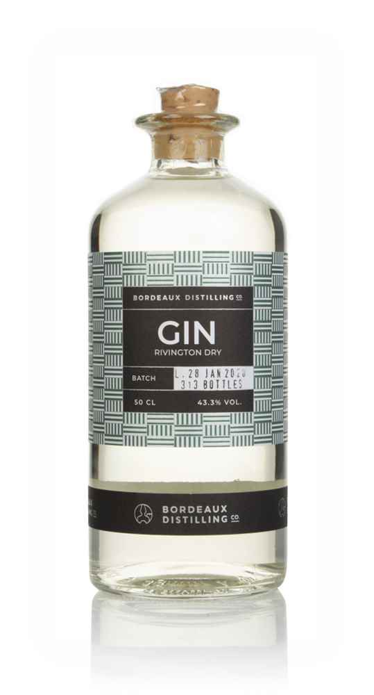 Bordeaux Distilling Co. Rivington Dry Gin