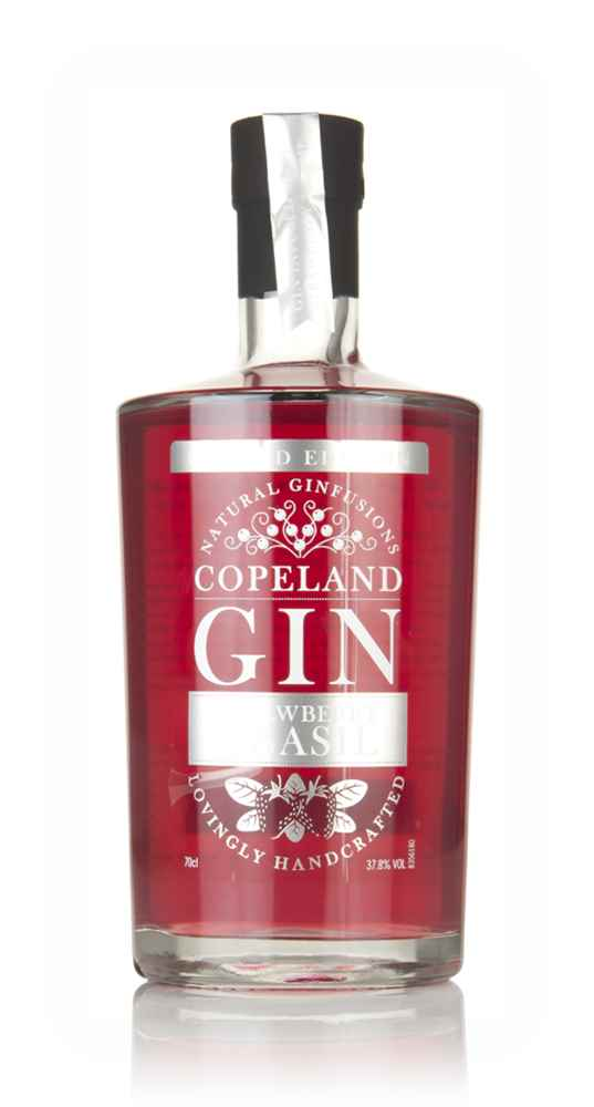 Copeland Gin Strawberry & Basil