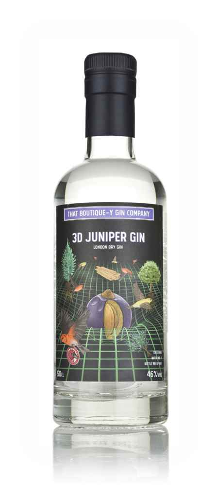 3D Juniper Gin - Crossbill (That Boutique-y Gin Company)