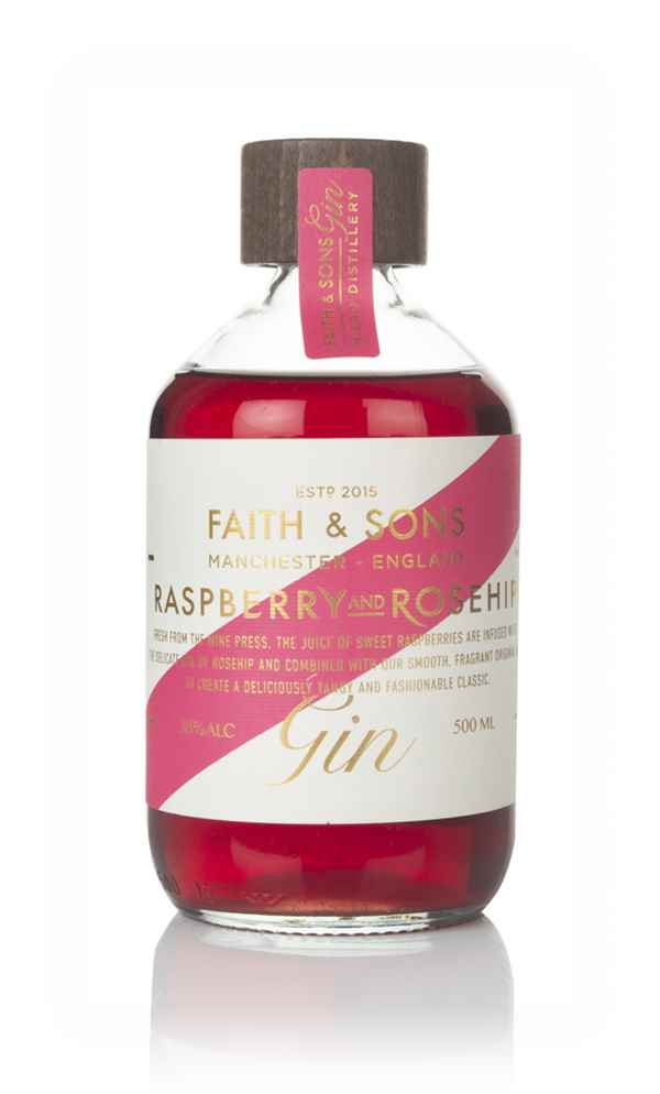 Faith & Sons Raspberry and Rosehip Gin