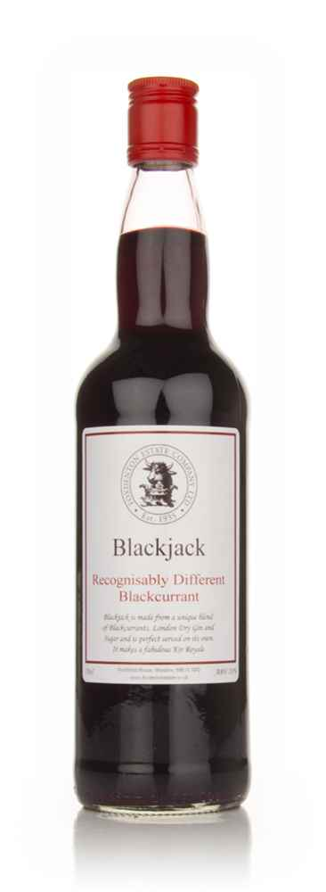 Foxdenton Estate Blackjack Blackcurrant Gin Liqueur