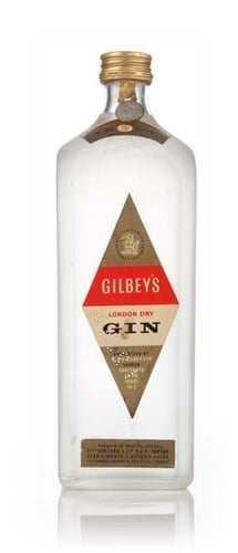 Gilbey's London Dry Gin (100cl) - 1949-59