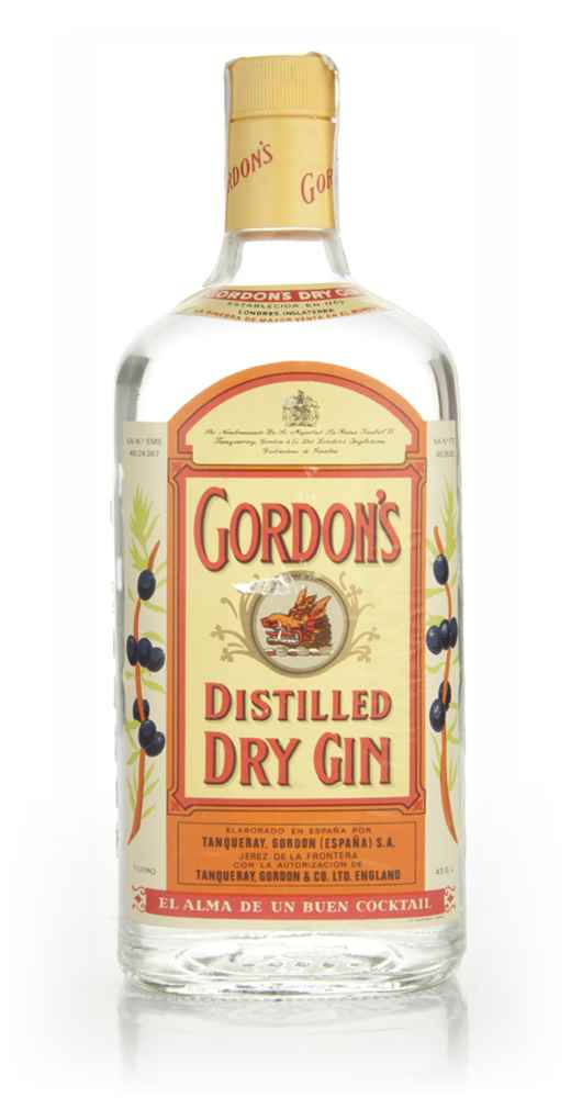 Gordon's Distilled Dry Gin - 1970s
