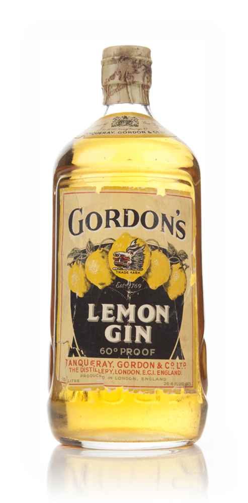Gordon's Lemon Gin - 1936-52