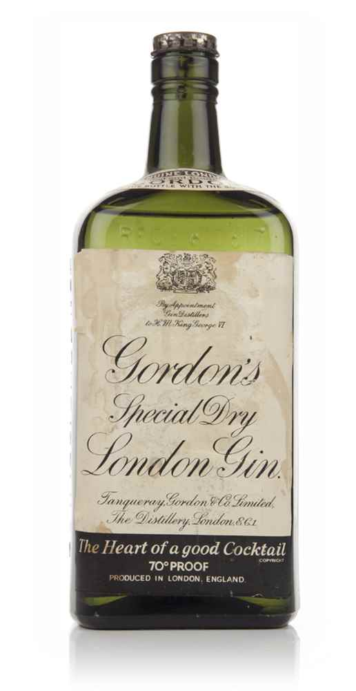 Gordon's Special Dry London Gin - 1936-52