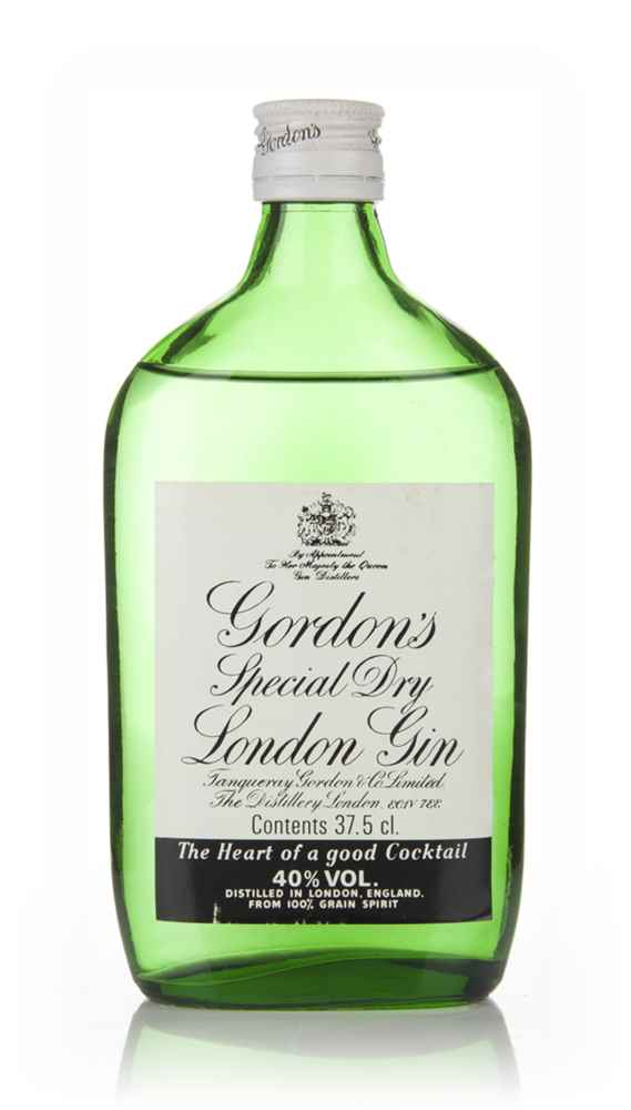 Gordon's Special Dry London Gin 37.5cl - 1960s