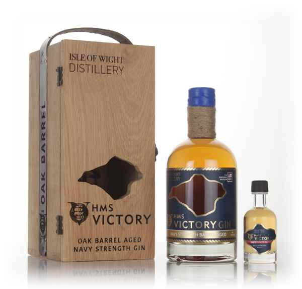 HMS Victory Oak Barrel Aged Navy Strength Gin - 2nd Release
