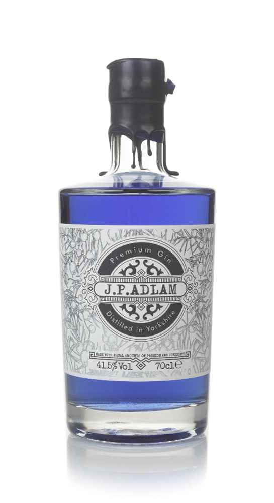 J.P. Adlam Blue Colour Changing Gin