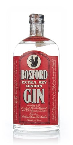 Bosford Extra Dry Gin - 1960s