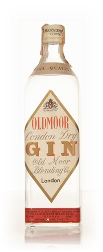 Oldmoor London Dry Gin - early 1970s