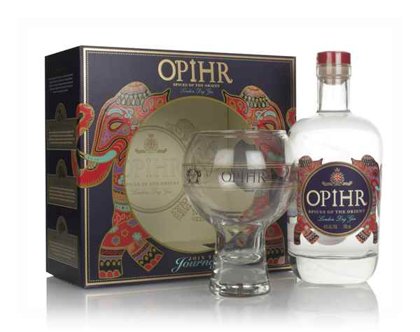 Opihr Oriental Spiced Gin Gift Pack with Glass