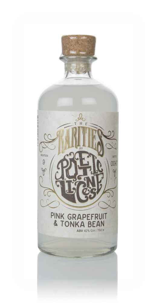 Poetic License Pink Grapefruit & Tonka Bean Gin