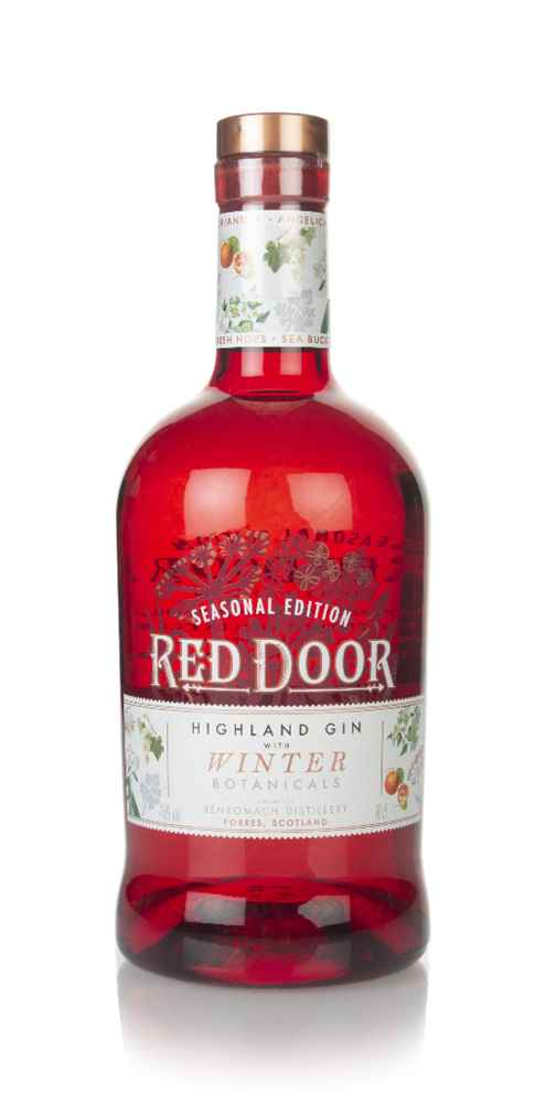 Red Door Gin with Winter Botanicals