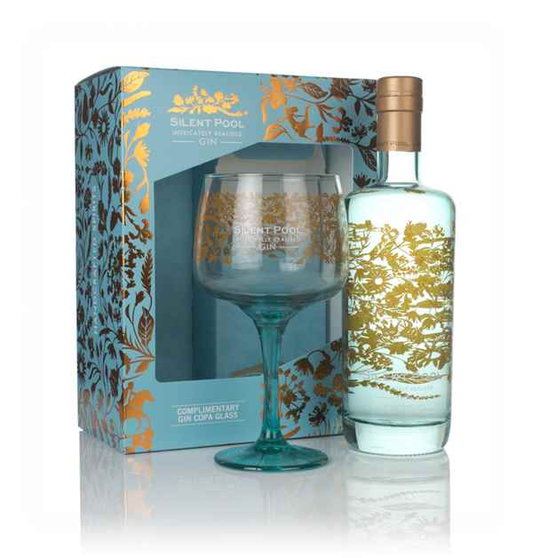 Silent Pool Gin Gift Pack with Glass