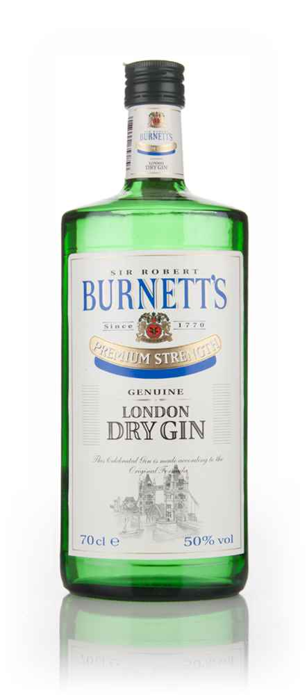 Sir Robert Burnett's Premium Strength London Dry Gin - 1980s