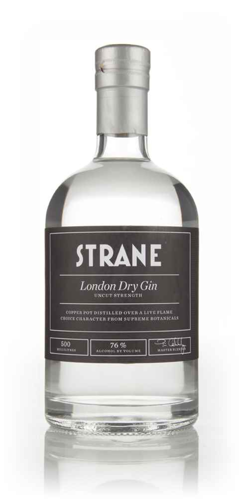Strane London Dry Gin - Uncut Strength - 76%
