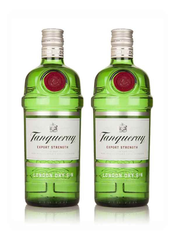 Tanqueray Export Strength - Gin Twin Bundle