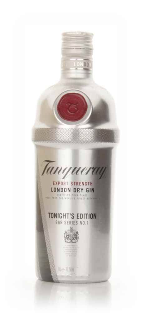 Tanqueray Export Strength London Dry Gin - Tonight's Edition - 2010
