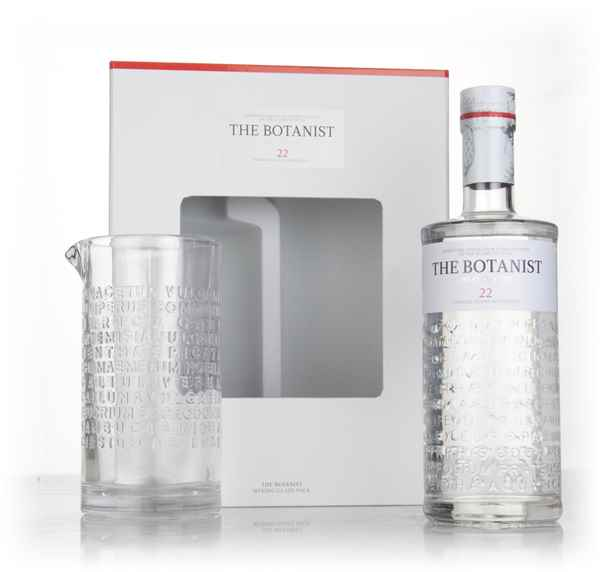 The Botanist Gift Pack with Mixing Glass
