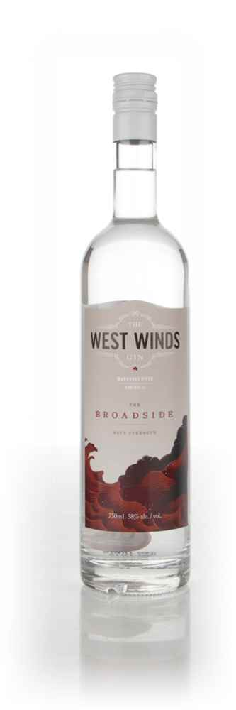 The West Winds Gin - The Broadside 75cl