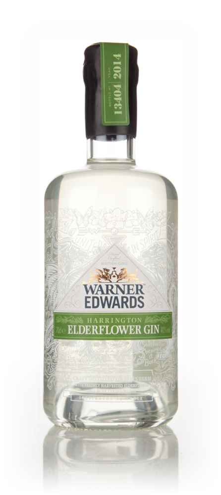 Warner Edwards Elderflower Infused Gin (70cl)