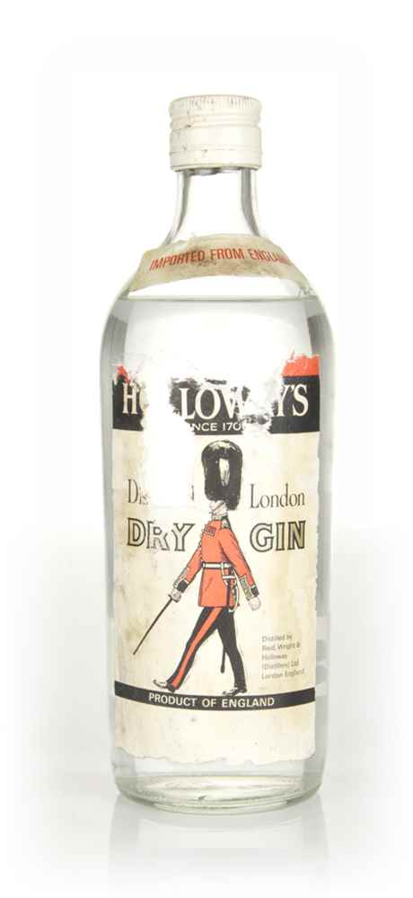 Holloway's London Dry Gin - 1960s