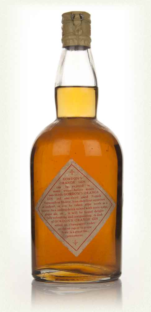 Gordon's Orange Gin - 1936-52