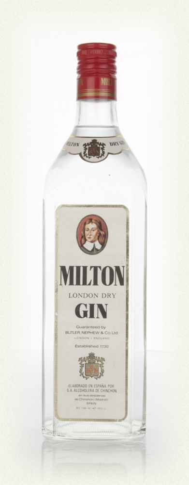 Milton London Dry Gin - 1970s