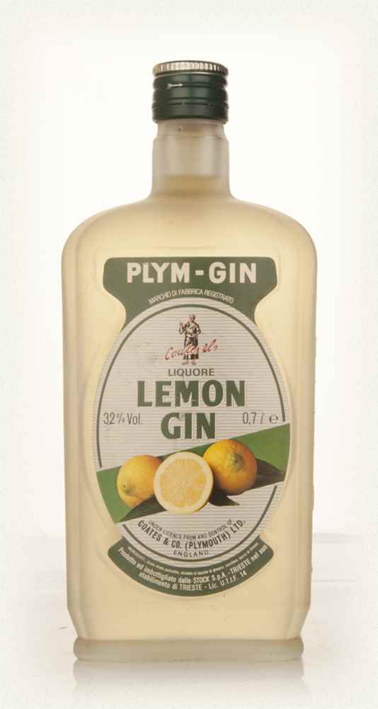 Plymouth Lemon Gin - Early 1980s