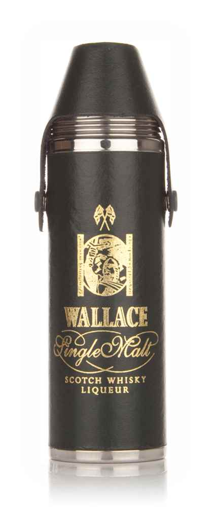 Wallace Single Malt Liqueur Hip Flask 10oz