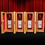 The Macallan Red Collection bottles