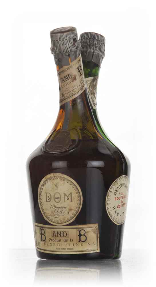 Bénédictine + B&B Couple's Bottle - 1960s