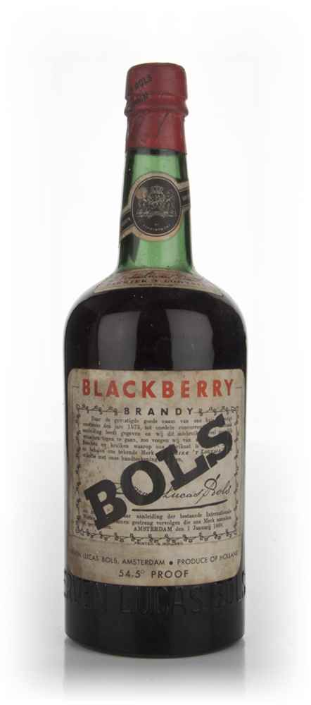Bols Blackberry Brandy - 1960s