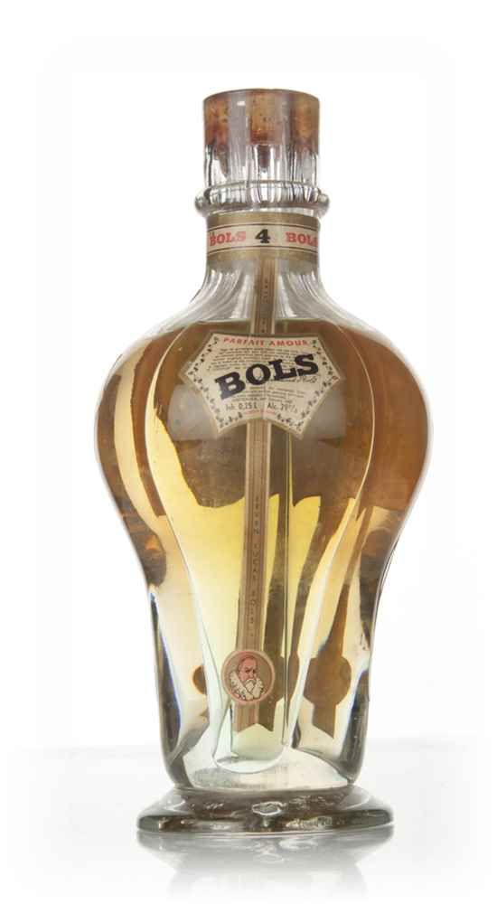 Bols Four Compartment Liqueur Bottle - 1950s