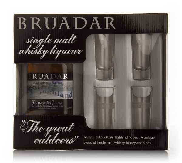 Bruadar + 4 Glasses 35cl