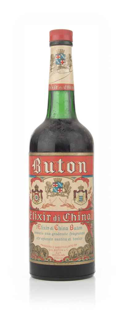 Buton Elixir Di China - 1949-59