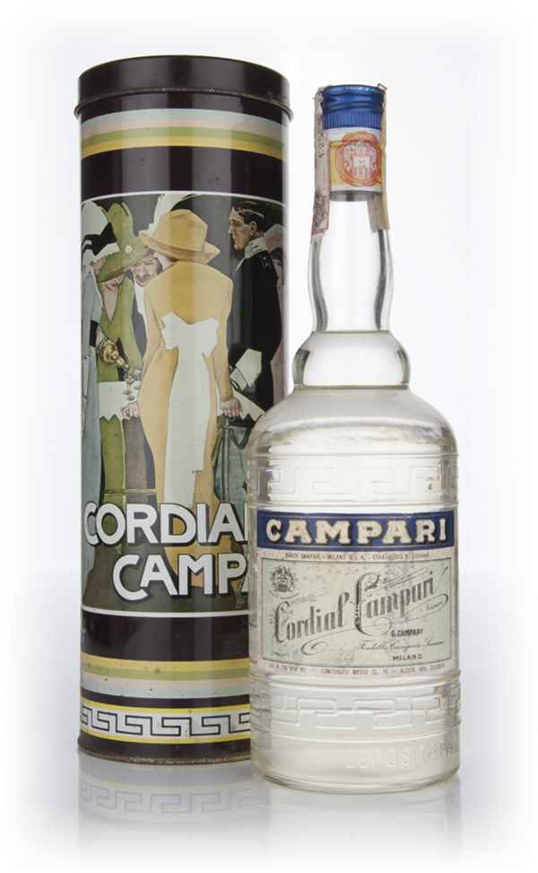 Campari Cordial in Tin - 1970s