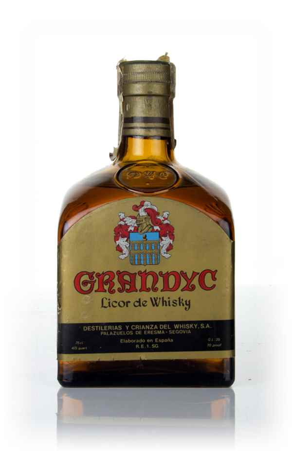 Grandyc Licor de Whisky - 1980s