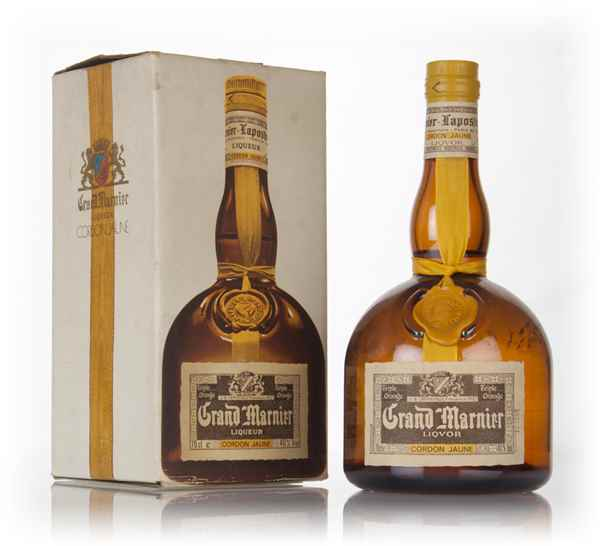Grand marnier cordon jaune boxed 1970s liqueurs for Grand marnier cordon jaune aldi