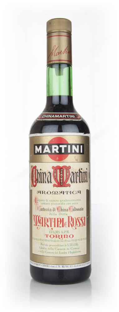 Martini & Rossi China Martini - 1980s