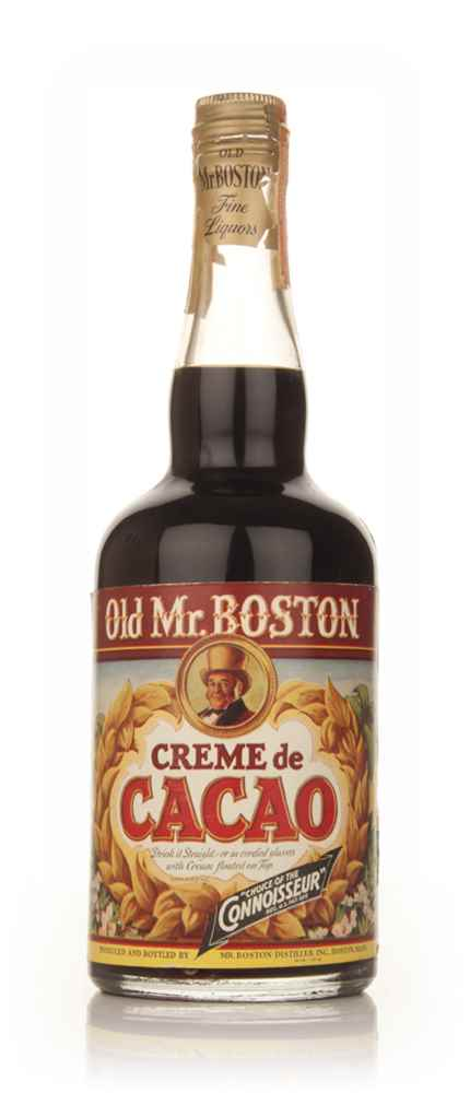 Old Mr. Boston Crème de Cacao - 1960s