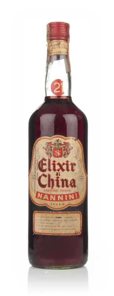 Nannini Elixir di China - 1960s