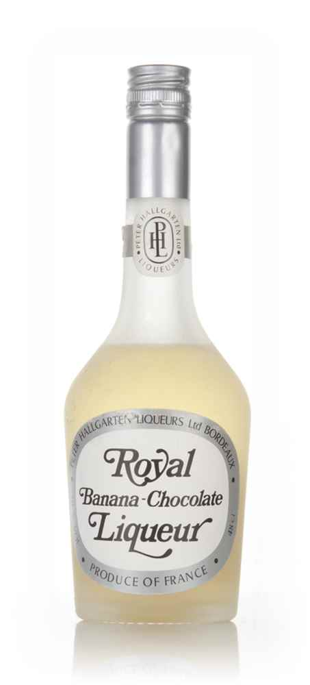 Peter Hallgarten Royal Banana-Chocolate Liqueur - 1970s