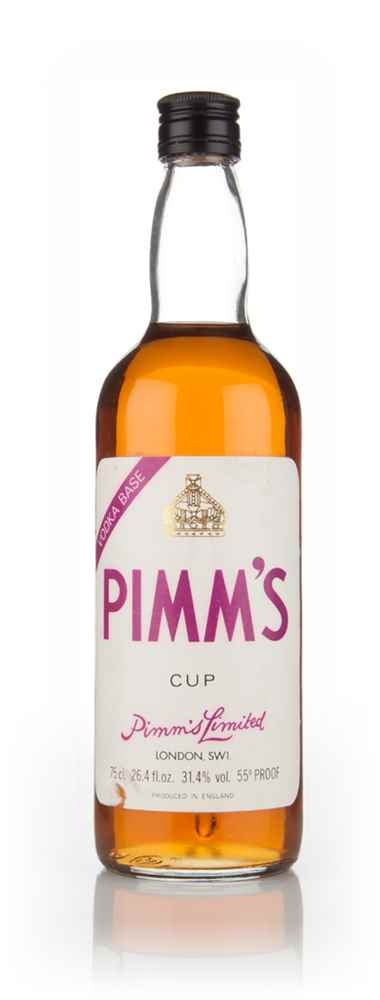Pimm's Cup Limited - Vodka Base - 1970s