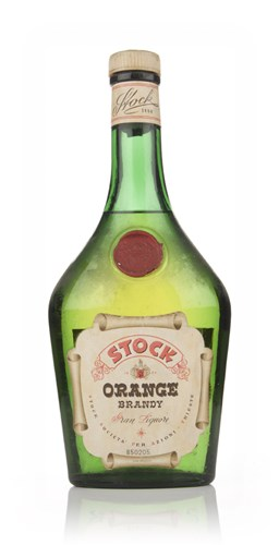 Stock Orange Brandy - 1949-59