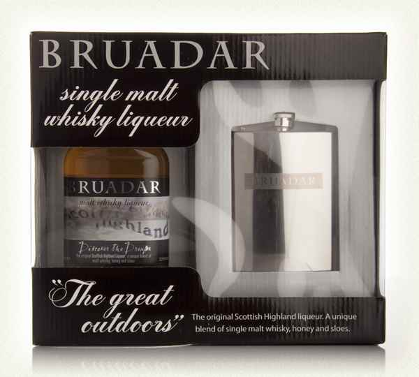 Bruadar + Hip Flask 35cl